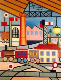 Tarsila do Amaral - La estación