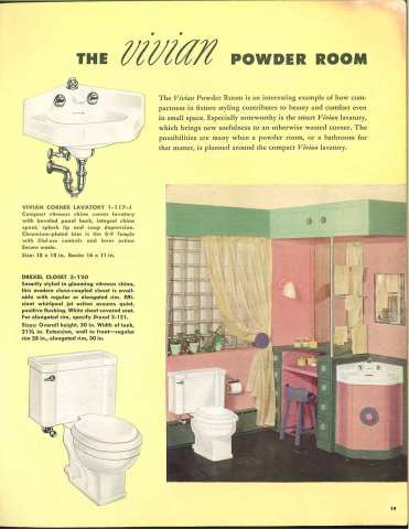 1949 crane fixtures for the modern bathroom