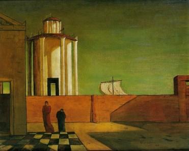 Giorgio de Chirico - El enigma de la llegada de la noche