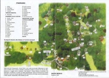 Planta Parque de Bomarzo
