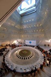 Palacio de la Paz y la Reconciliación, Astana, Kazajastán. Norman Foster