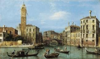 Canaletto, El Gran Canal y la entrada al Cannaregio