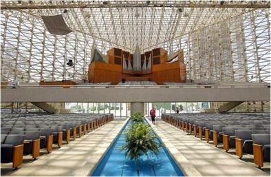 Catedral de Cristal, Philip Johnson
