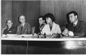 Odilia Suárez con intendentes
