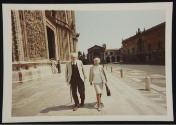 Ezra Pound y Olga Rudge