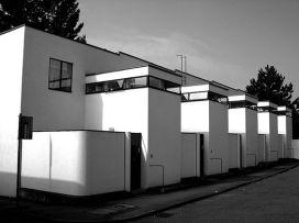 Urbanización Weissenhof. J. J. Pieter Oud
