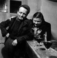 Robert Doisneau, Le mimosa, Paris, 1952