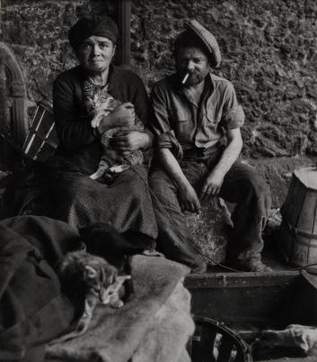 Robert Doisneau, Les chats des clochards