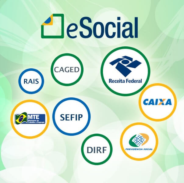 Veja as Obrigações Trabalhistas a Serem Extintas com o eSocial Atualmente as informações geradas pelos Departamentos Pessoais das empresas são transmitidas a diversos órgãos diferentes, como a Caixa Econômica Federal (CEF), Instituto Nacional do Seguro Social (INSS), o Ministério da Previdência