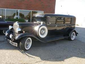 1930 Plymouth Stretch Limo