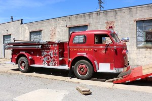 engine rebuild 1952 fire truck