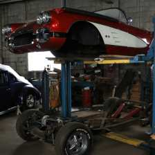 1958 Corvette restoration