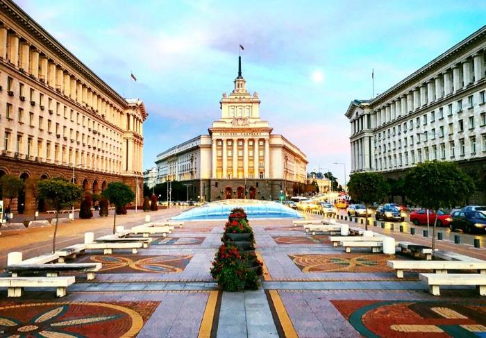 callejeando en Sofia, congreso de los diputados