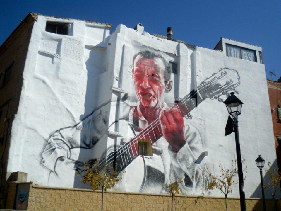 """Guitarrista"" de Miles MAc (2011)"