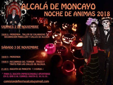 NOCHE DE ÁNIMAS EN ALCALÁ DE MONCAYO