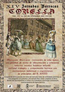 jornadas barrocas de Corella 2018 cartel