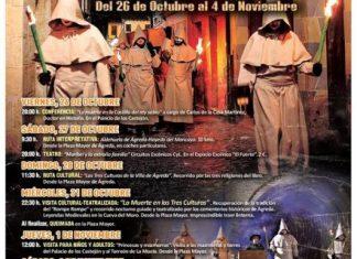 Cartel Puente todos los santos en Ágreda