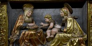 Taller en el Museo de Tudela para conocer el retablo de Martín Sesma
