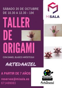 misala, taller origami
