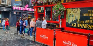 the temple bar Dublín