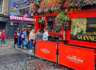 the temple bar Dublín
