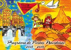 Cartel navidad Tudela 2018