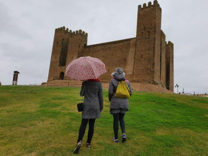 Vista del Castillo de Sádaba