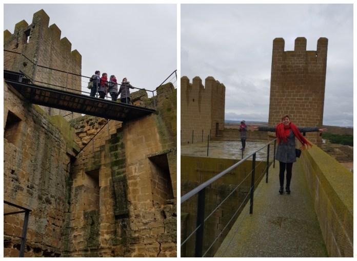 Castillo de Sádaba. Paseo de Ronda