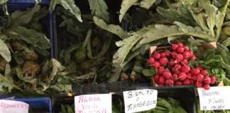Verduras en Mercado Tudela