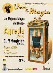 Cartel magia Agreda