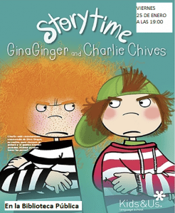 Storytime Gina Ginger and Charlie