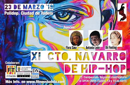 XI CAMPEONATO NAVARRO DE HIP-HOP 2019, Tudela