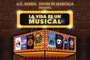 La vida es un Musical de la banda joven de Marcilla