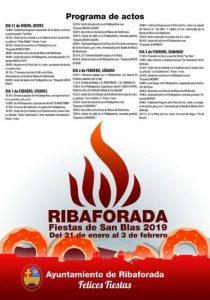 San Blas 2019 Ribaforada
