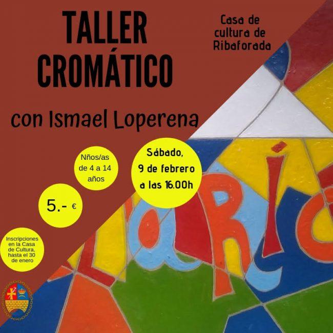 Taller cromático con Ismael Loperena en Ribaforada