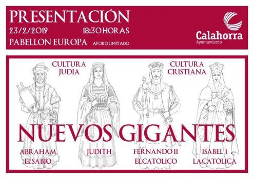 PRESENTACIÓN NUEVOS GIGANTES CALAHORRA