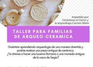Cartel ejea Taller cerámica