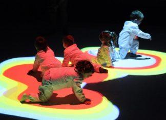 Bebés bailando teatro Tudela