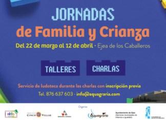 Cartel Crianza y Familia Ejea