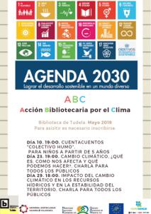 Cartel Actividades Biblioteca Tudela
