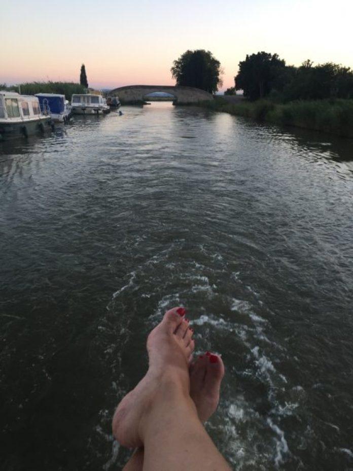 Canales de Francia en barco