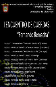 Cartel Encuentro cuerdas tudela 2019