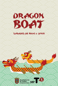 Cartel Dragon Boat Ebro Tudela