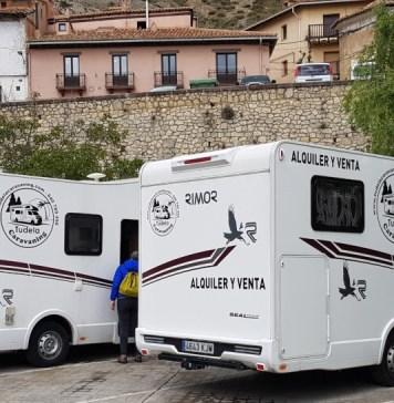 Autocaravanas con niños en Albarracín