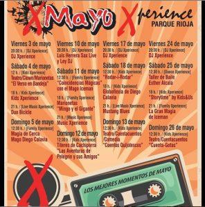 Programa Mayo Xperience Parque Rioja