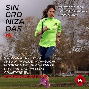 Cartel sincronizadas Pamplona