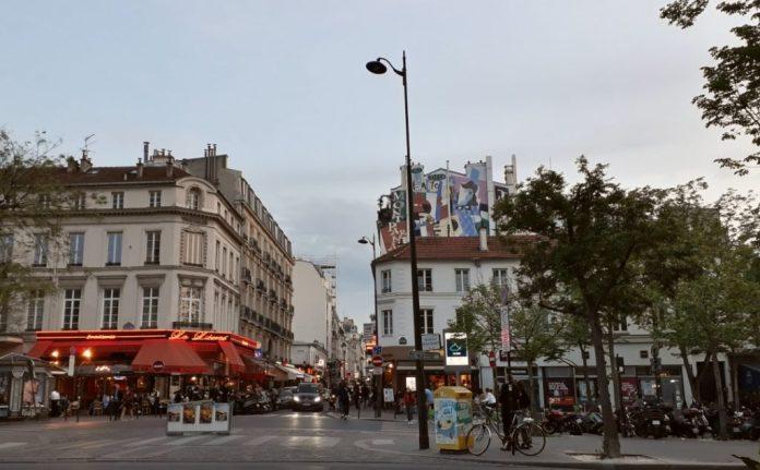 Plaza en Montparnasse