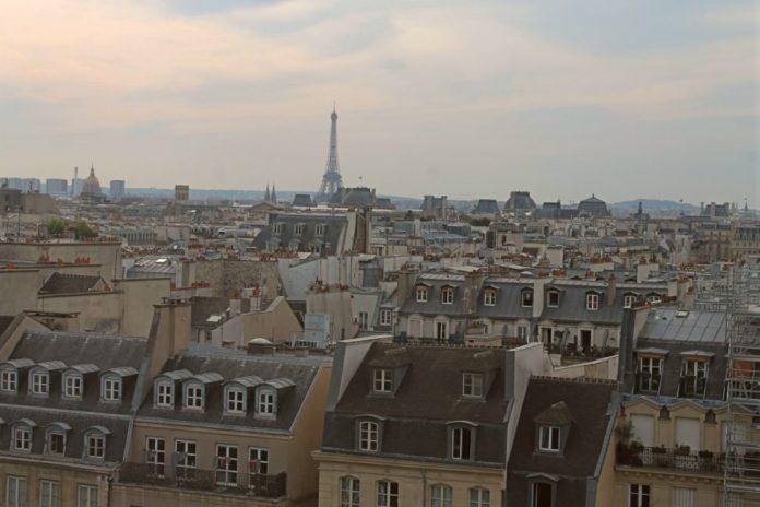 Visitar París con adolescentes tejados de París
