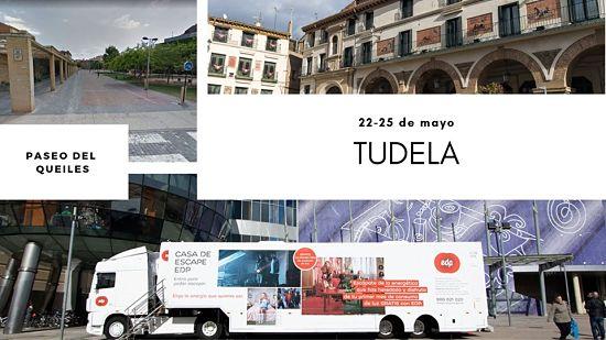 casa de escape EDP, Tudela