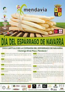 día del espárrago de Navarra, Mendavia